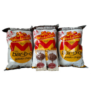 Middleswarth Potato Chips and Gertrude Hawk Chocolates