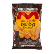 Middleswarth BBQ Chips - Party Style